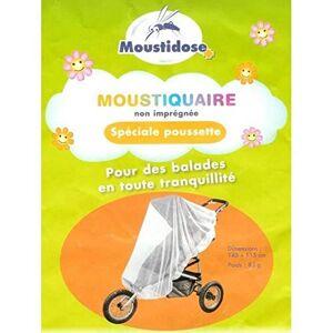 Moustidose Moustiquaire Non Imprégnée Spéciale Poussette - Publicité