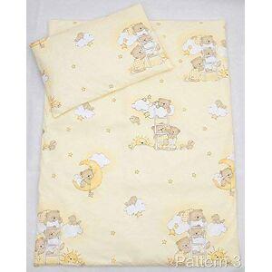 Baby Comfort Parure de Lit 2 Pices Lit Bébé (Housse de Couette 70x80 cm et Taie d'Oreiller 30x35 cm) Motif 3 - Publicité