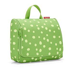 Reisenthel toiletbag XL Trousse de Toilette, 59 cm, 4 liters, Multicolore (Spots Green) - Publicité