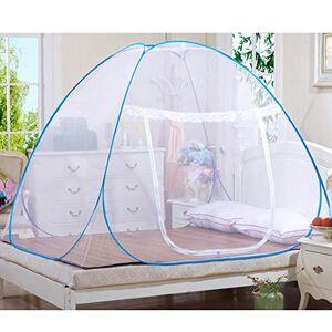 AZITEKE Moustiquaire Portable de voyage Moustiquaire Entirement fermé Autonome pliable Moustiquaire Tente Camping Mosquito Rideau (150*200*150cm) - Publicité
