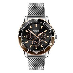 Sekonda Watches Sekonda 1841 Montre bracelet en maille pour homme - Publicité