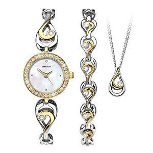 Sekonda Ensemble de bijoux et montre pour femme bicolore - Publicité