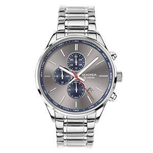Sekonda Montre chronographe grise pour homme - Publicité