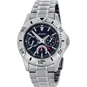 Sekonda M3114 Montre chronographe pour homme Bleu - Publicité