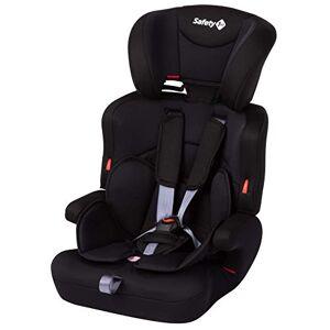 Safety 1st Ever Safe + Siège Auto Groupe 1/2/3, Siège Auto Enfant Évolutif, Installation avec Ceinture de Sécurité, de 15 mois à 10/12 ans, 9-36 kg, Full Black (noir) - Publicité