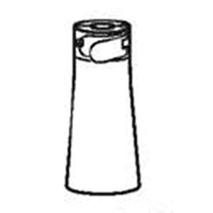 BLOOM Pièce de rechange pour chaise haute  Fresco – Boîtier blanc pour cylindre hydraulique – #02 Swivel Shaft housing White - Publicité