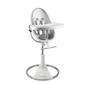 """BLOOM E10505-WLSL """"fresco"""" Chaise haute loft blanc/couleur argent lunaire - Publicité"""