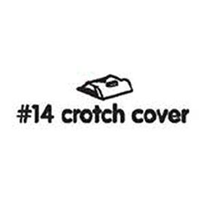BLOOM Fresco Pièce de rechange pour chaise haute Blanc #14 Crotch Cover White - Publicité