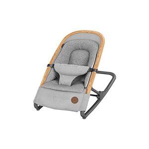 Bébé Confort Kori Transat 2 en1, Transat Léger avec Réducteur Confortable pour Nouveau-Né, de La Naissance  9 Mois (0-9 Kg), Essential Grey - Publicité