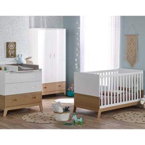 Alfred & Compagnie Chambre bébé compléte INES Blanc/chne - Publicité