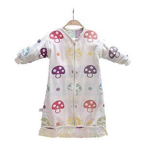 JHion Pyjama en coton à manches amovibles et respirant pour bébé gris Medium - Publicité