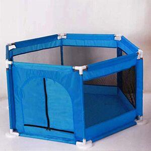 YAMEIJIA Portable parc barrière bébé barrière sécurisée au lit Ball Pool 0-6 ans parc à bébé piscine Tissu Oxford clôture enfant balle,WJ3559B - Publicité