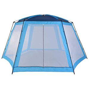 vidaXL Tente de Piscine Abri de Soleil Tente de Plage Abri de Protection UV Auvent Jardin Terrasse Cour Extérieur Tissu 590x520x250 cm - Publicité