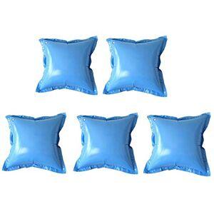 well2wellness Coussins gonflables / Coussins flotteurs d'hivernage pour piscine 5 coussins TOP avec valve transparente - Publicité
