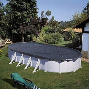 Gre CIPROV1001 Couverture dhiver pour piscine ovale, Noir, 1000 x 550 cm - Publicité