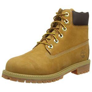 Timberland Classic FTC_6 in Premium WP Boot, Bottes Mixte Enfant, Jaune (Wheat Nubuck), 35 EU - Publicité