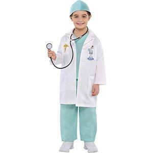 amscan Christys Dress Up 999659/999660 Costume de médecin pour Enfant 4-6 Ans - Publicité