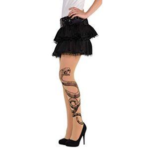 amscan - Costume Halloween sorcire de Docteur Serpent Collants 1 pice, 847880-55 - Publicité