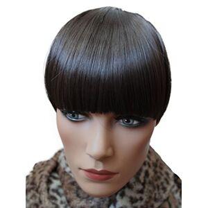 PRETTYSHOP Postiche PRETTYSHOP frange, postiche, mche de cheveux, Poney, clip en extensions, variation de couleur HF5 - Publicité