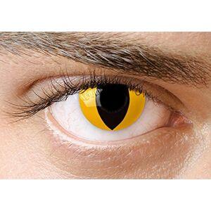 MYSA LENS Edit Lentilles de Contact chat jaune (paire) (sans correction) - Publicité