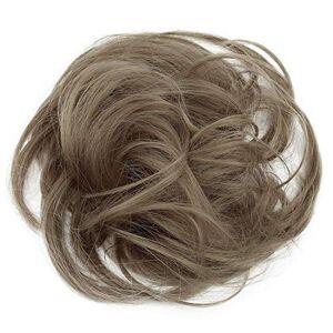 CAISHA PRETTYSHOP Postiche Choucho Avoir Les Cheveux Relevés Volumineux Léger Ondulé Chignon Blonde Naturelle G25B - Publicité