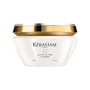 Kérastase Kerastase Gamme Elixir Ultime Soin masque nourrissant d'exception pour une Douceur et une brillance intense de la fibre 200ml - Publicité