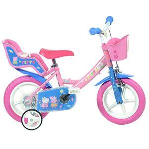 Dinobikes Dino Bikes- Vélo Fille-Peppa Pig, 124 R, 12 - Publicité