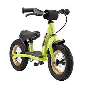 BIKESTAR Vélo Draisienne Enfants pour Garcons et Filles de 2-3 Ans   Vélo sans pédales évolutive 10 Pouces Classique   Vert - Publicité