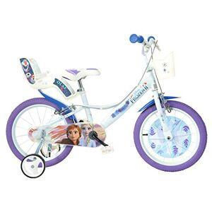 Dinobikes Dino Bikes Disney Princess Vélo Fille sous Licence Frozen 16 Pouces-5  8 Ans, 166 R-FZ - Publicité