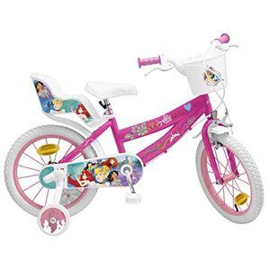 Toimsa Disney Princess Vélo pour Fille-Princesses Disney-16 de 5  8 Ans, 645 - Publicité