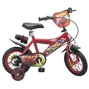 """Toimsa - Pixar Vélo 12"""" modle Cars 3-5ans, 732 EN71, Rouge - Publicité"""