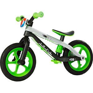 Chillafish BMXie-RS: la draisienne avec repose-pied pour les enfants de 2  5 ans, pneus en mousse EVA et caoutchouc ultra résistants et increvables, sige réglable en hauteur sans outils, vert - Publicité