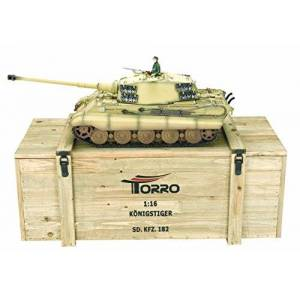 TORRO Tigre Royal Desert Camo 1/16 Pro-Edition BB RTR - Publicité