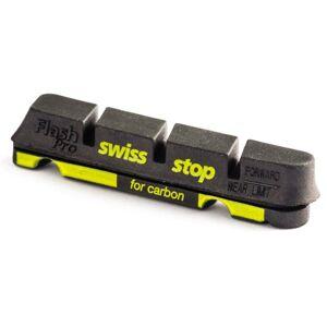 Swiss Stop SwissStop Flash Pro Patins de Vélo de Route pour Jantes en Carbone, Noir (Black Prince), 4 Pices - Publicité
