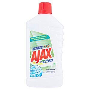 AJAX Gel avec javel, fracheur pin sgrassa, désinfecte, élimine les odeurs1000ml - Publicité