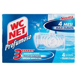 WC Net 3effect, nettoyant pour WC, Ocean Fresh, 4tablettes136g - Publicité