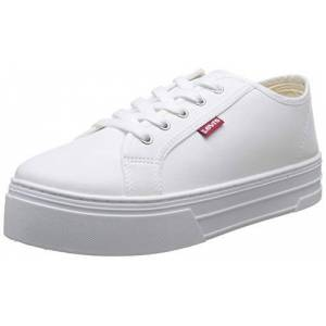 Levis Tijuana, Baskets Femmes, Blanc (Sneakers 51), 38 EU - Publicité