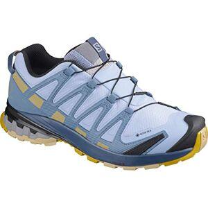 Salomon Femme Chaussures de Trail Running, XA PRO 3D v8 GTX W, Couleur: Bleu (Kentucky Blue/Dark Denim/Pale Khaki), Pointure: UE 39 1/3 - Publicité