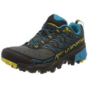 La Sportiva Akyra, Chaussures de Trail Homme, Multicolore-Anthracite/Bleu (Carbon/Tropic Blue 000), 45.5 EU - Publicité