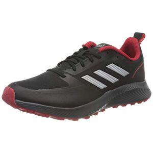 Adidas Runfalcon 2.0 TR, Running Shoe Homme, Core Black/Silver Metallic/Grey, 43 1/3 EU - Publicité