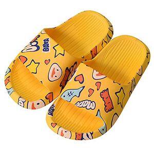 Kinengxi Pantoufles Enfants Maison d'été Piscine et Plage Doux Sandales Garcon Filles Tongs Chaussons Chaussures de Bain Antidérapant - Publicité