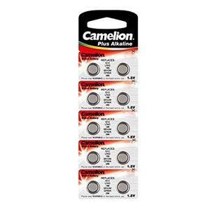 Camelion AG12/LR43/LR1142/386 Pack de 10 Piles jetables pour Appareil Photo - Publicité