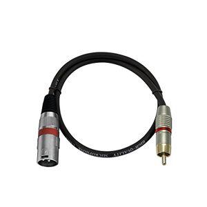 Omnilux Kabel AC-06R Cinch/XLR (M), 60cm, rot - Publicité
