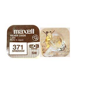 Maxell 371Micro Batterie silberoxide - Publicité