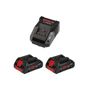 Bosch Power Set (2 x 18V 4,0 Ah ProCore + AL1820CV) - Publicité
