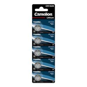 Camelion 13005620 Lithium Knopfzelle CR1620, 3V, 5er Blister - Publicité
