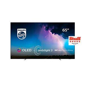 Philips TV OLED 4K 65 pouces  65OLED754 Téléviseur OLED 164 cm SMART TV HDR 10+ Ambilight 3 cotés Moteur P5 Dolby Vision Atmos 4 x HDMI - Publicité