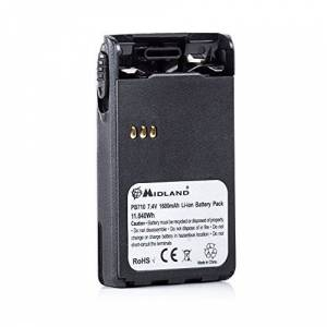 Midland Batterie rechargeable  PB 710C1050compatible avec CT210CT410CT710 - Publicité