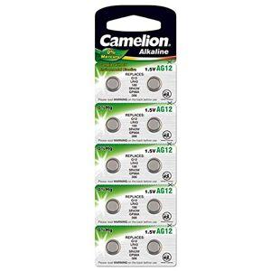 Camelion AG12 LR43 Lot de 10 Piles Bouton alcalines 1,5 V - Publicité