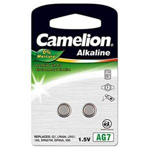 Camelion Pile-bouton  AG7 (2 unités sous blister) - Publicité